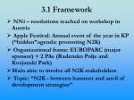 3 1 framework