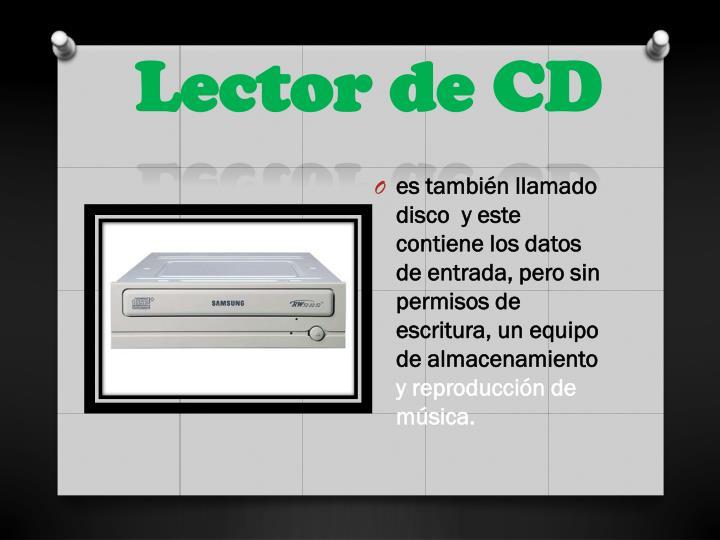 Lector de cd