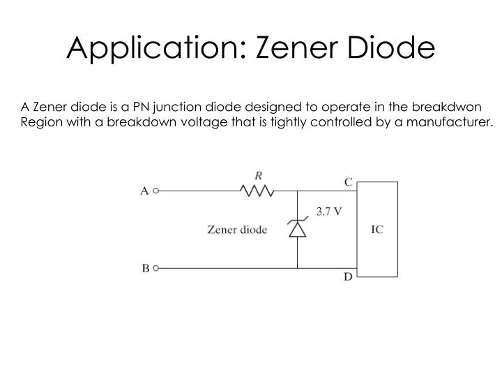 Application: Zener Diode