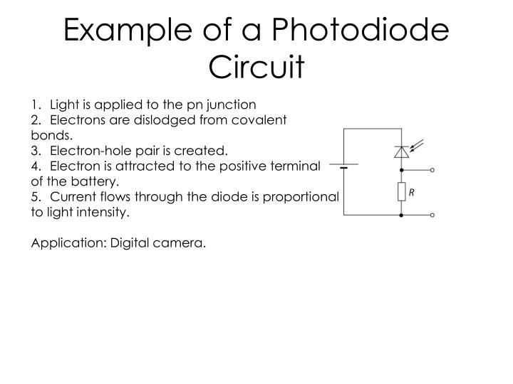 Example of a Photodiode Circuit
