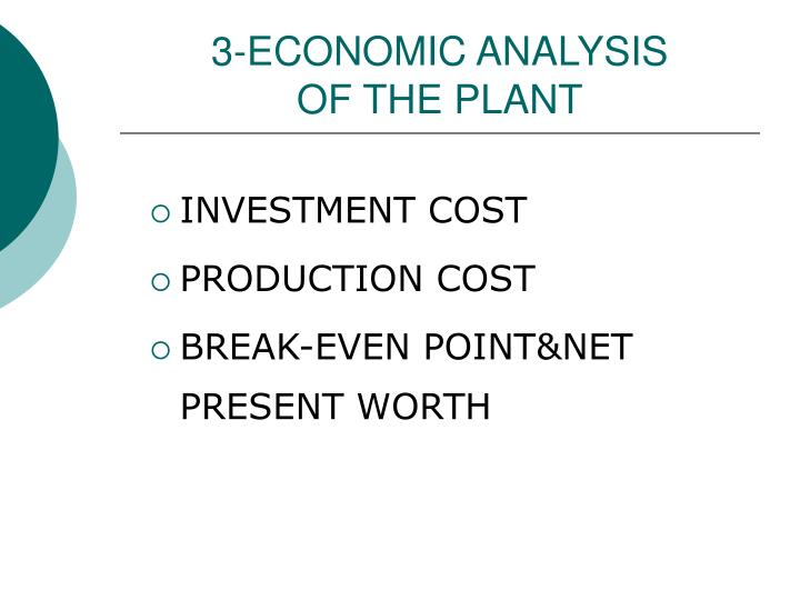 3-ECONOMIC ANALYSIS