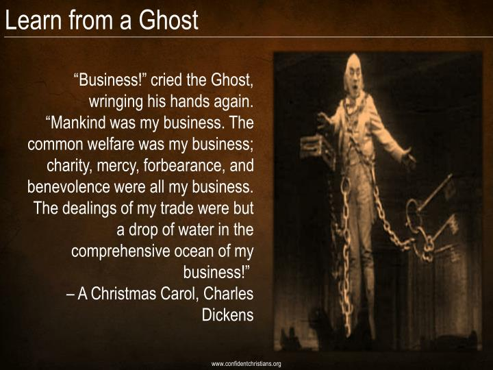 Learn from a Ghost