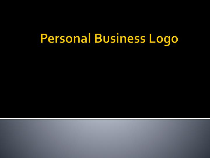 personal business logo n.