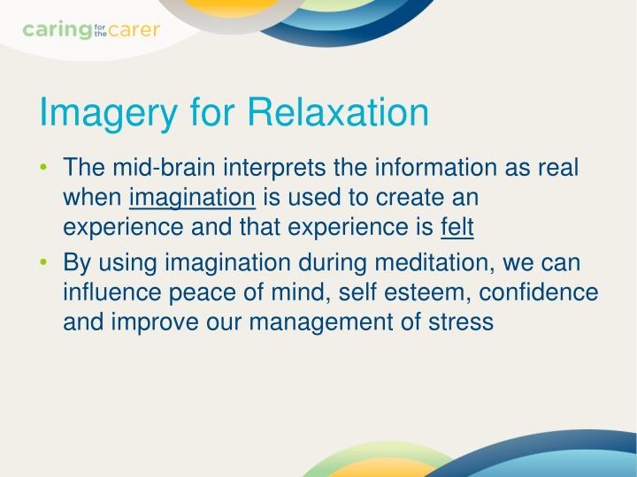 Imagery for Relaxation