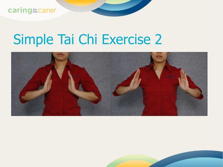 Simple Tai Chi Exercise