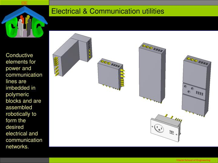 Electrical & Communication utilities