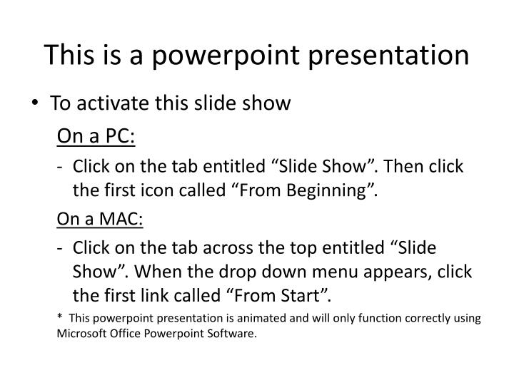 this is a powerpoint presentation n.