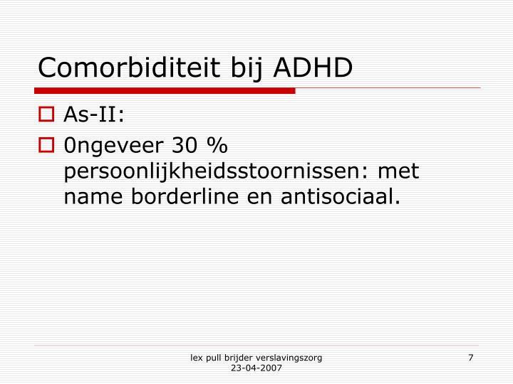 Comorbiditeit bij ADHD