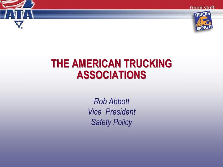 The american trucking associations