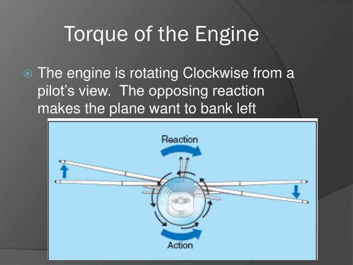 Torque of the Engine