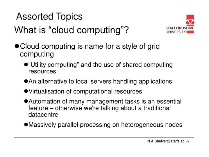 "What is ""cloud computing""?"