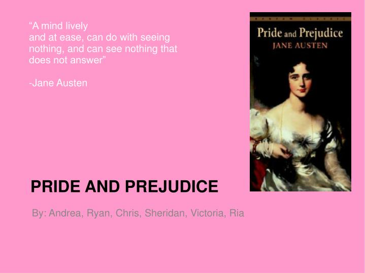 an analysis of the theme of pride and prejudice a novel by jane austen A secondary school revision resource for gcse english literature about the themes in jane austen's pride and prejudice.