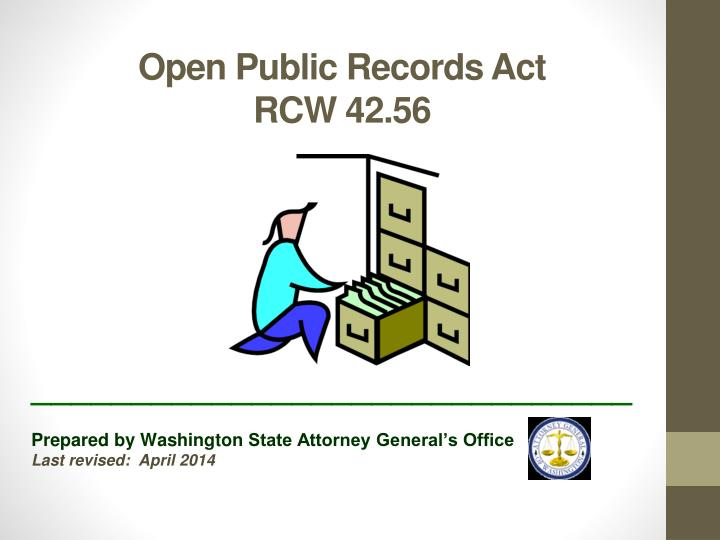open public records act rcw 42 56
