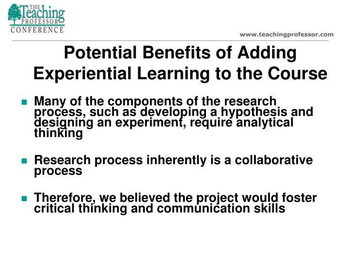 Collaborative Teaching Reaping The Benefits : Ppt teaching research methodology through participation