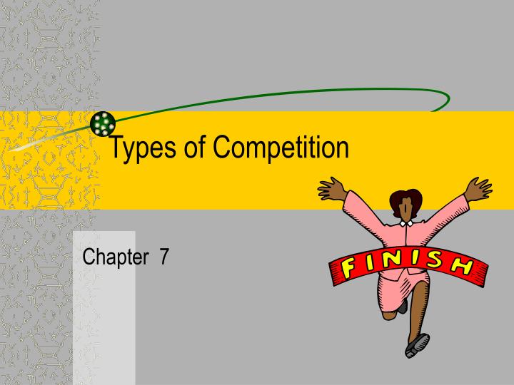 types of competition n.