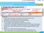2 3 cpe inventory product master how to create1