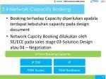 3 4 network capacity booking