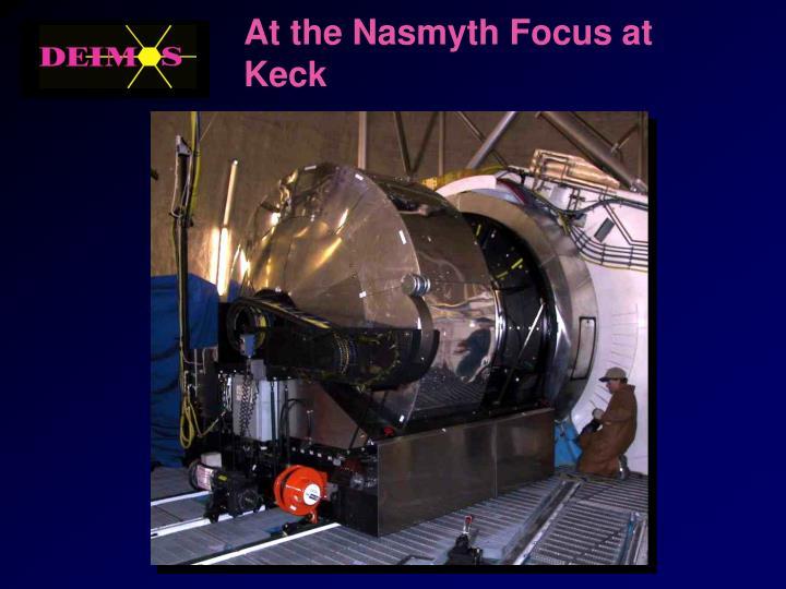 At the Nasmyth Focus at Keck