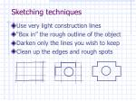 sketching techniques1