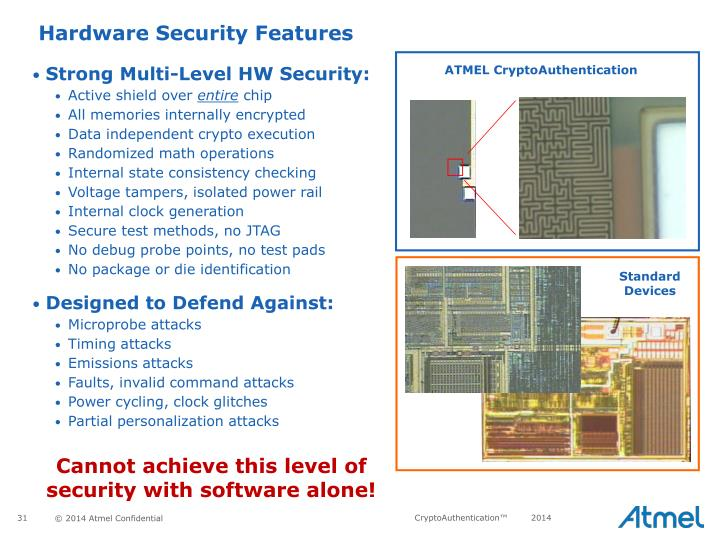 Hardware Security Features