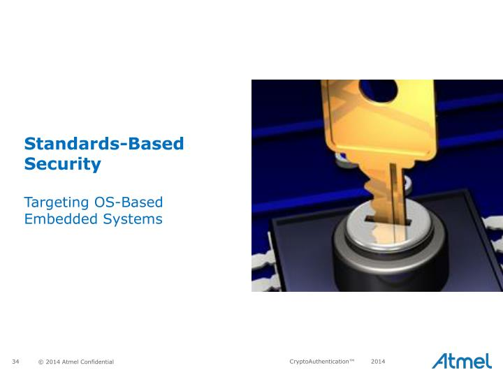 Standards-Based Security