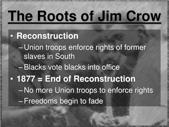 end of reconstruction The end of reconstruction united states history as time passed, it became more and more obvious that the problems of the south were not being solved by harsh laws and continuing rancor against former confederates.