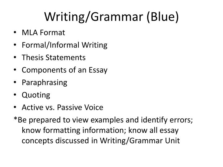 proper grammar writing essay Grammar mistakes in essay writing a successful essay must be grammatically correct learn the most common types of grammar errors in student essays so you won't repeat them yourself.