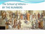 the school of athens by the numbers