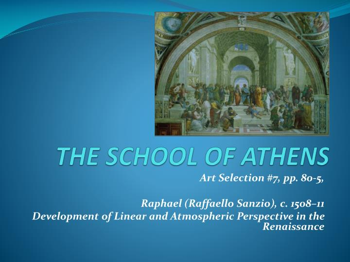 the school of athens n.