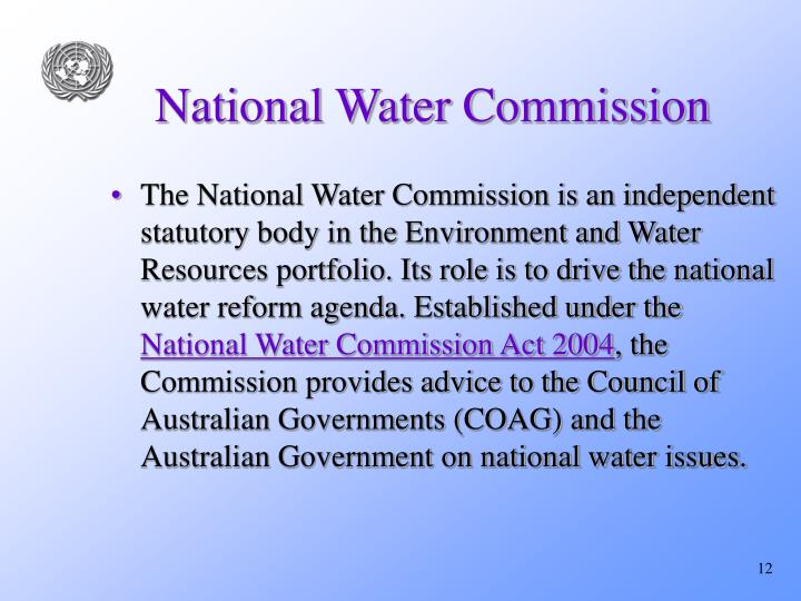 National Water Commission
