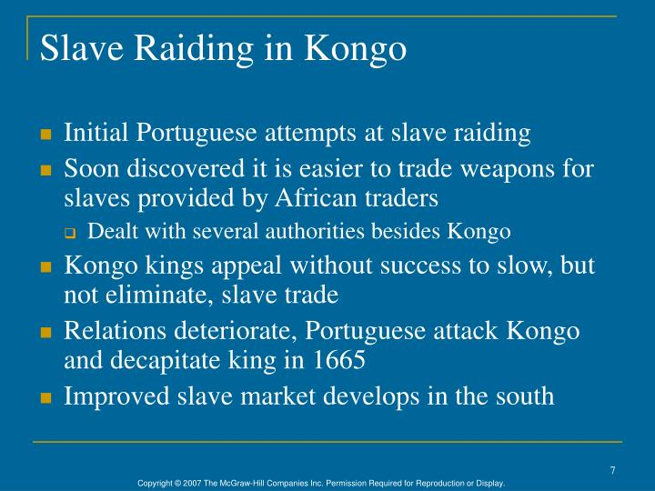 Slave Raiding in Kongo