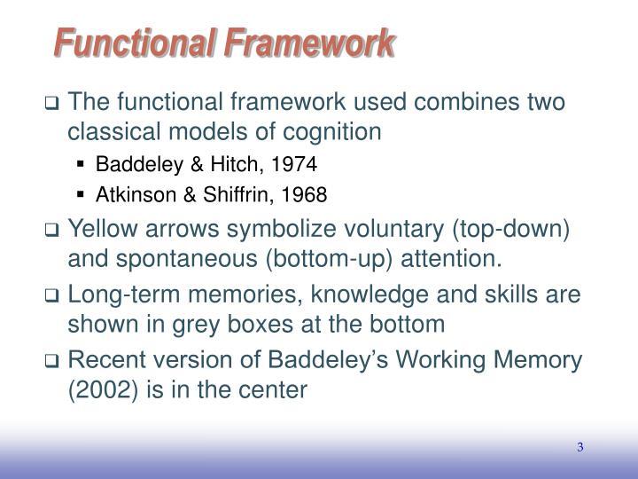 Functional framework