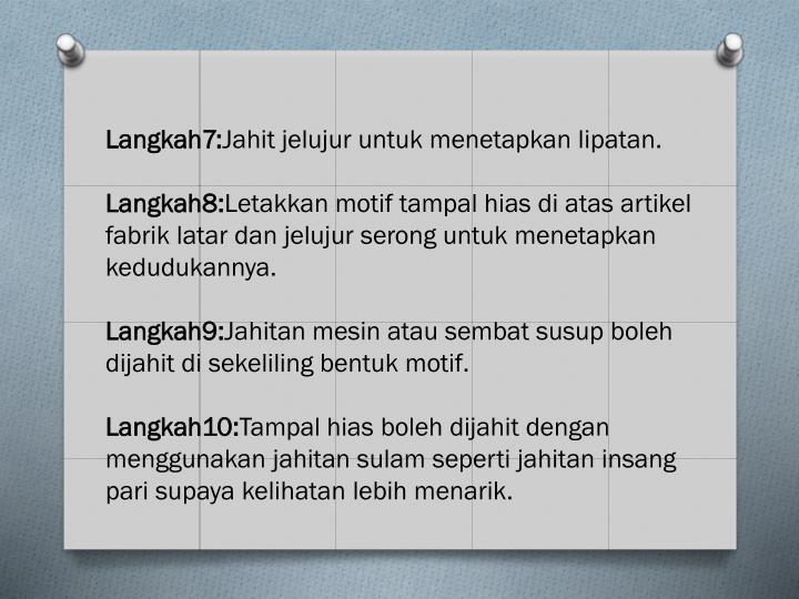 Langkah7: