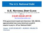 the u s national debt1