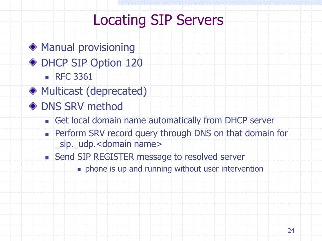 PPT - SIP Tutorial Introduction to SIP PowerPoint