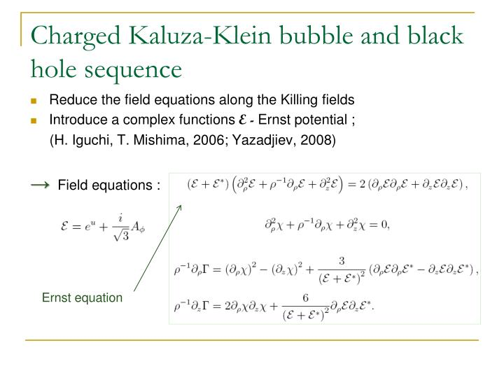 Charged Kaluza-Klein bubble and black hole sequence