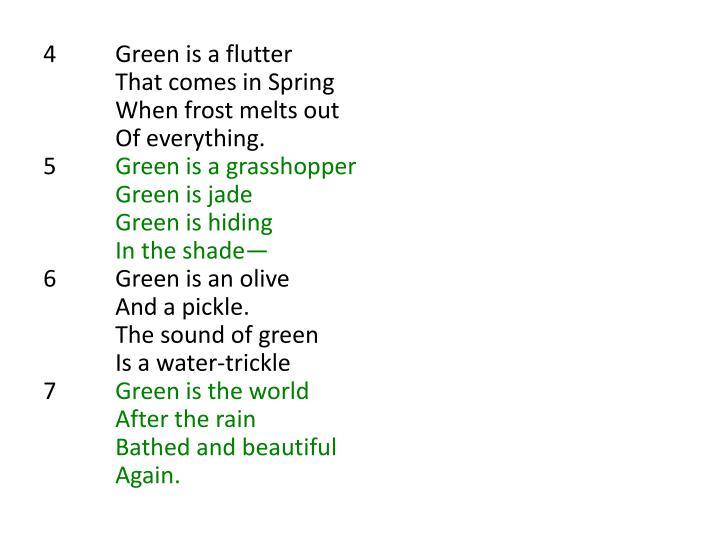 4Green is a flutter