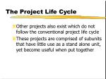 the project life cycle3