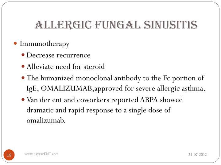 Allergic Fungal Sinusitis