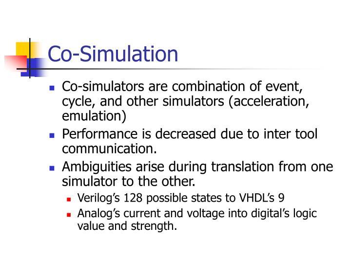 Co-Simulation