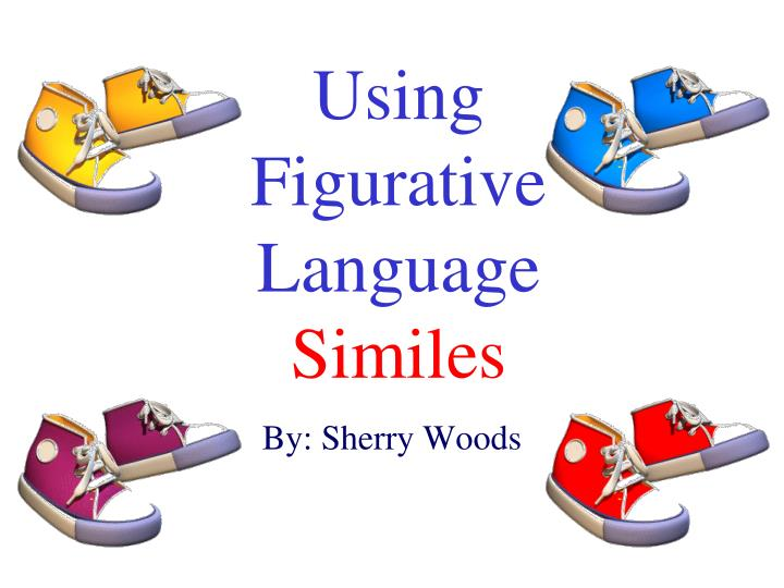 using figurative language similes n.