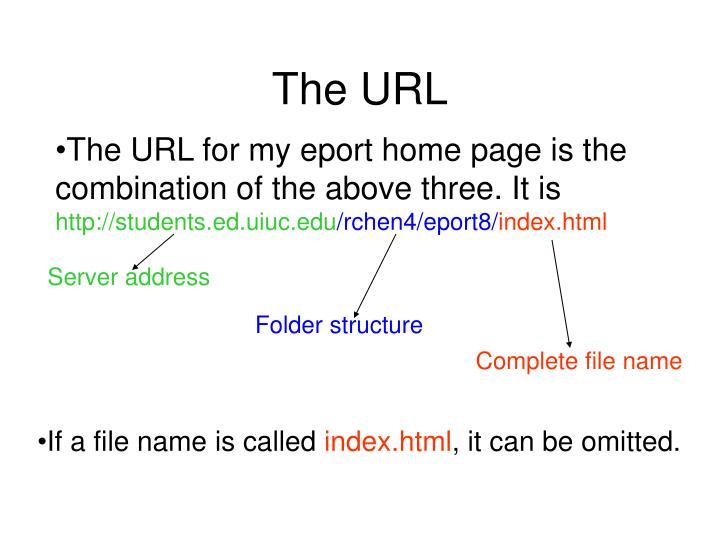 The URL