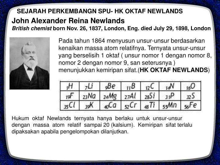 SEJARAH PERKEMBANGN SPU- HK OKTAF NEWLANDS