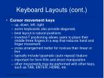 keyboard layouts cont2