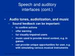speech and auditory interfaces cont4