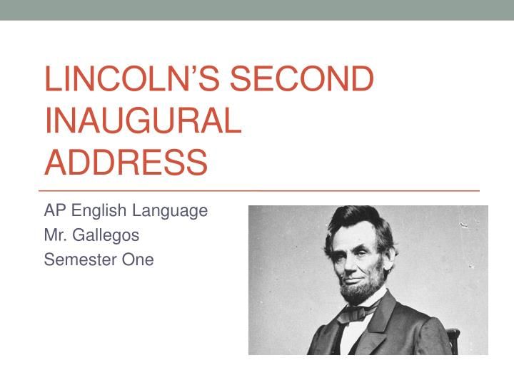 lincoln's second inaugural speech A summary of 1865 and beyond in 's abraham lincoln at his second inaugural address, lincoln had announced the imperative duty of the american people to proceed.