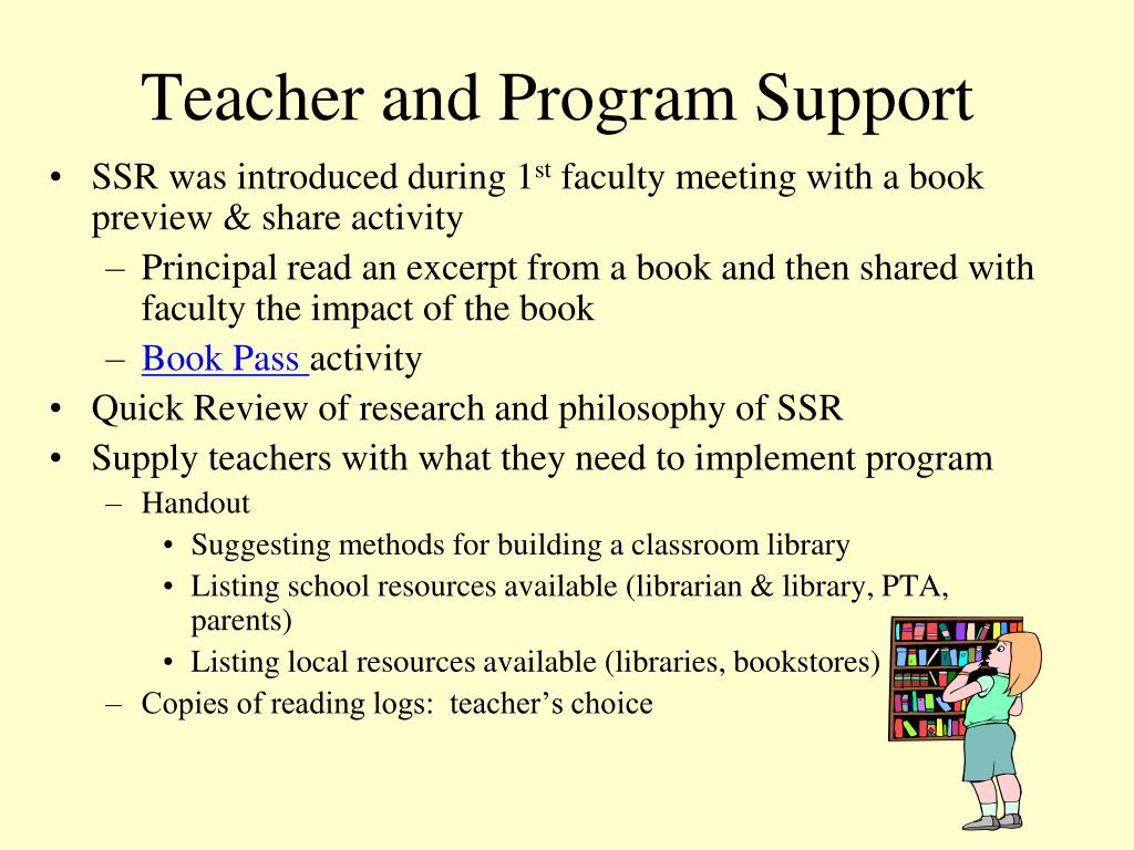 PPT - Sustained Silent Reading: PowerPoint Presentation - ID:3113385