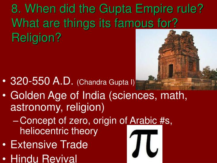 gupta empire achievements in astronomy - photo #48