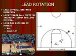 lead rotation