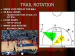 trail rotation
